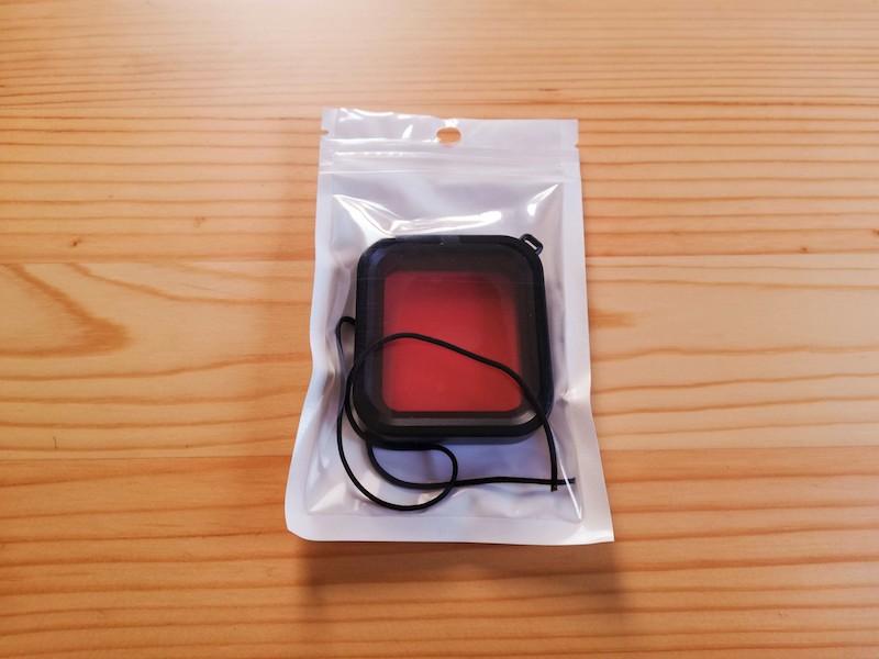 GoProの赤色フィルター