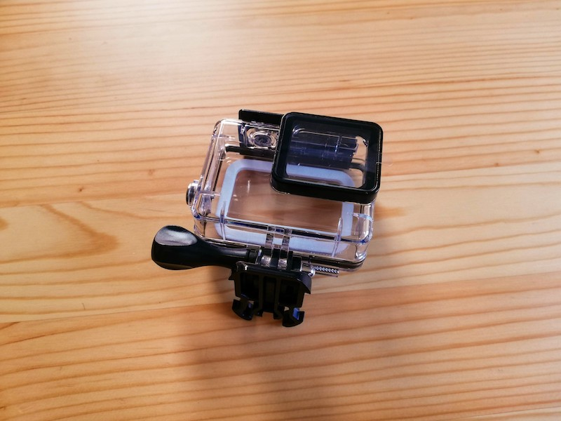 GoProの防水ハウジング