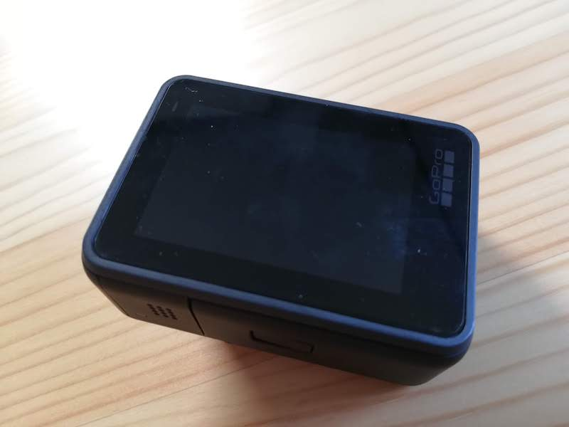 GoProの背面液晶保護フィルム