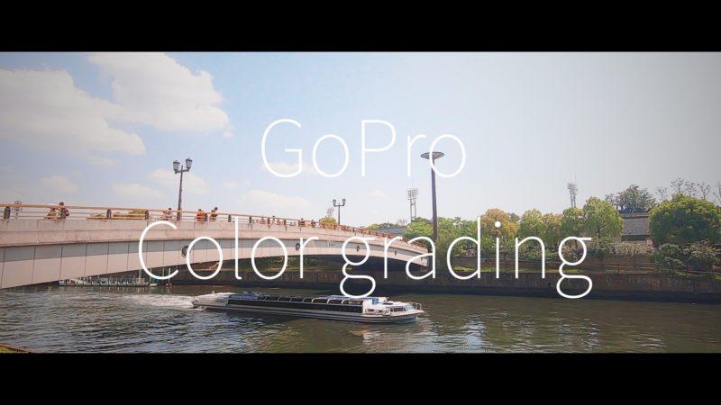 GoProでカラーグレーディング