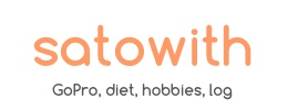 satowith log - GoProゴープロの写真と遊びのまとめ
