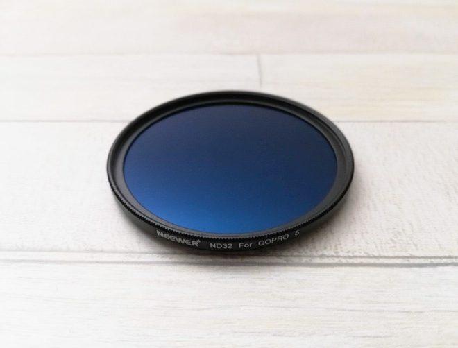 GoPro用NeewerのND32フィルター