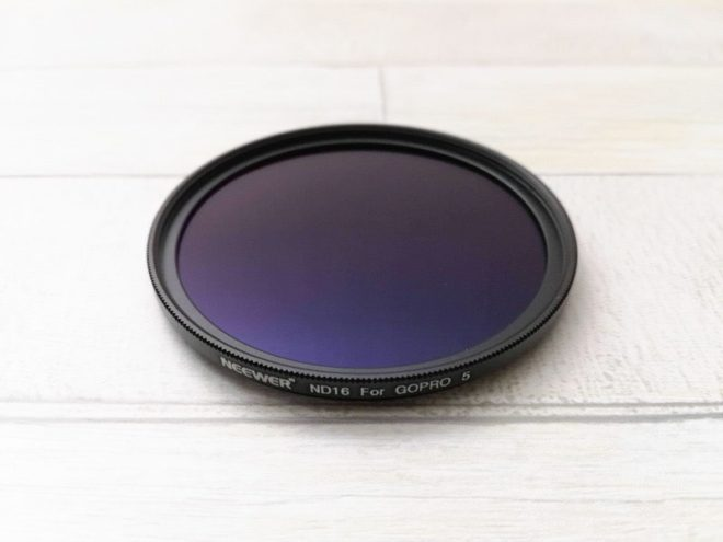 GoPro用NeewerのND16フィルター