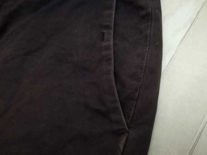 染める前のズボン