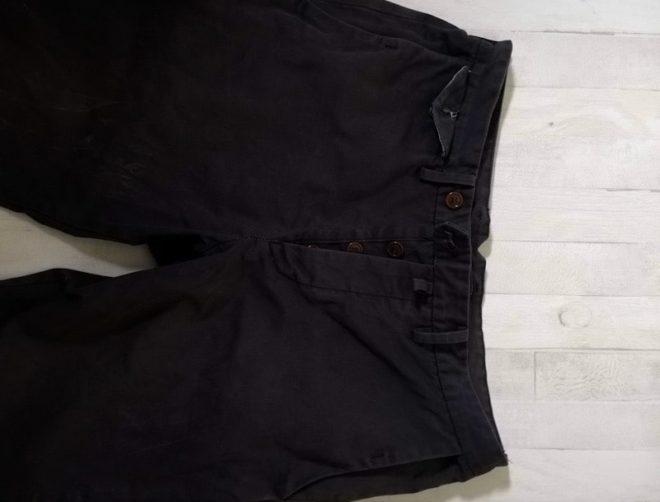 染めた後のズボン