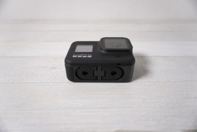 GoPro HERO8 Blackの折り畳み式フィンガー