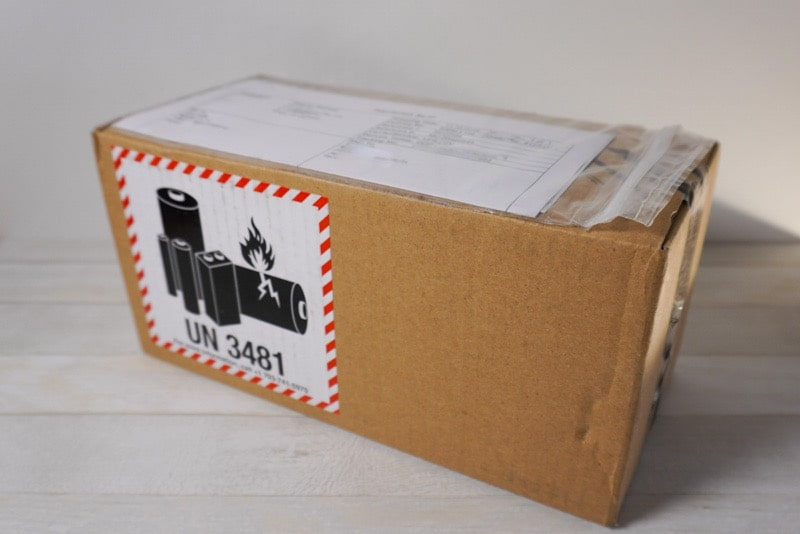 GoPro HERO8 Blackの梱包された箱