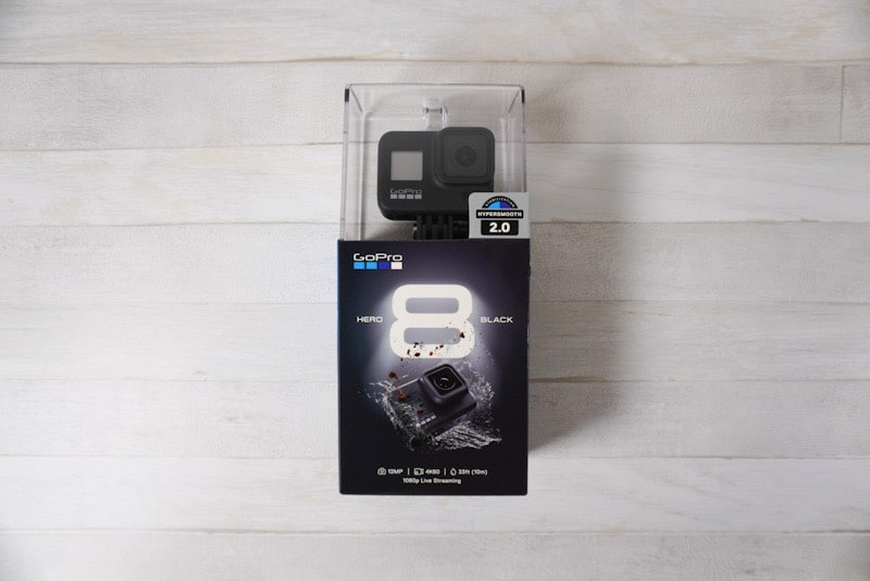 GoPro HERO8 Black箱外観