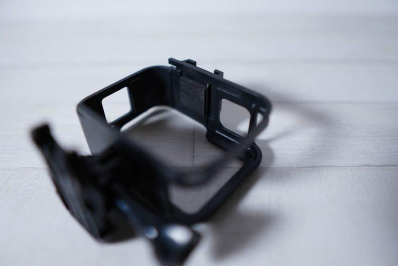 GoPro HERO8 Blackのフレームケースの内側のスポンジ