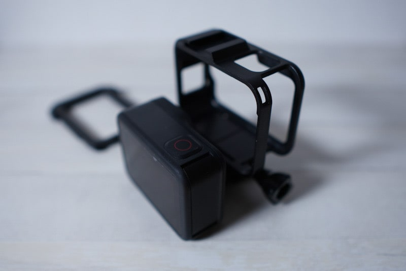 GoPro HERO8 Blackをフレームケースに入れる