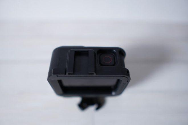 GoPro HERO8 Blackのフレームケースの上部