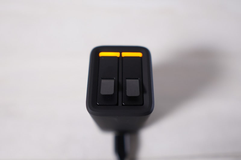 GoPro用デュアルバッテリー充電器+バッテリーの使用イメージ