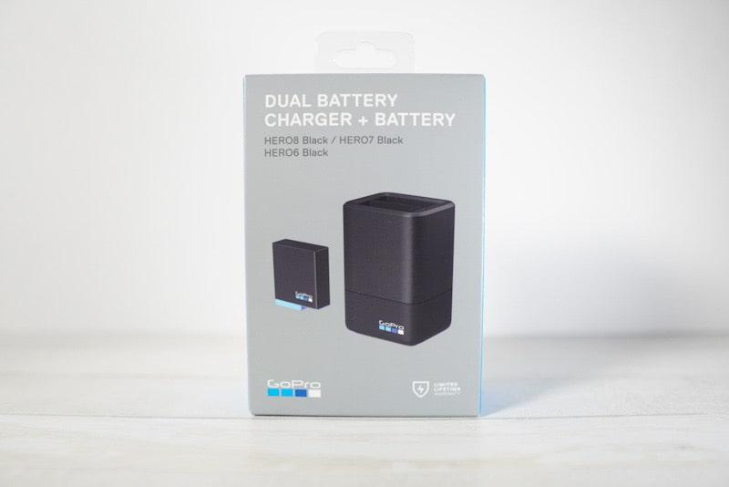 GoProデュアルバッテリー充電器+バッテリー
