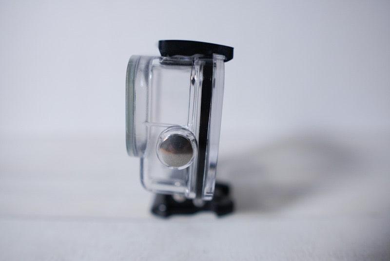 GoPro HERO8 Black用「Taisioner」のダイビングハウジングケースのボタン
