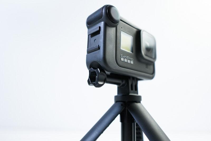 GoPro HERO8 Blackとメディアモジュラーとショーティー