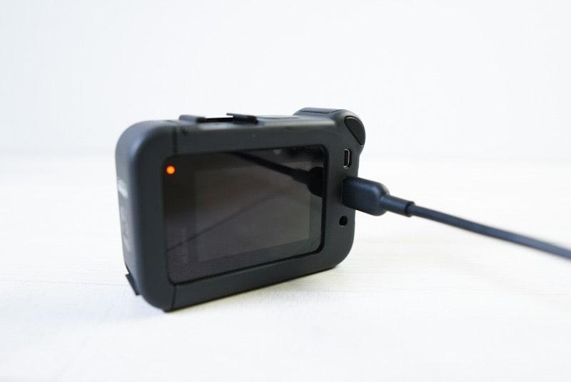GoPro HERO8 Blackとメディアモジュラーの給電