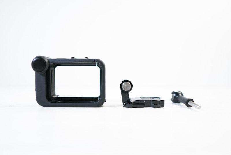 GoPro HERO8 Black対応メディアモジュラーの内容物