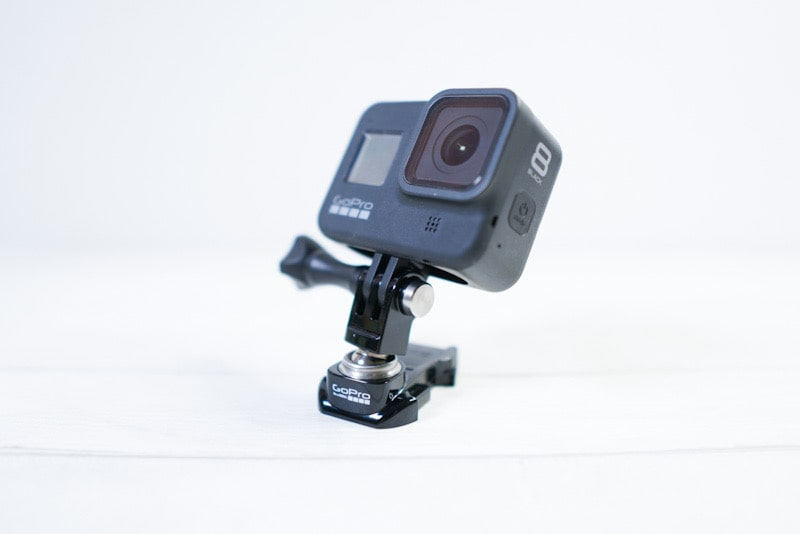 GoProアクセサリー『スイベル式マウント』とGoPro