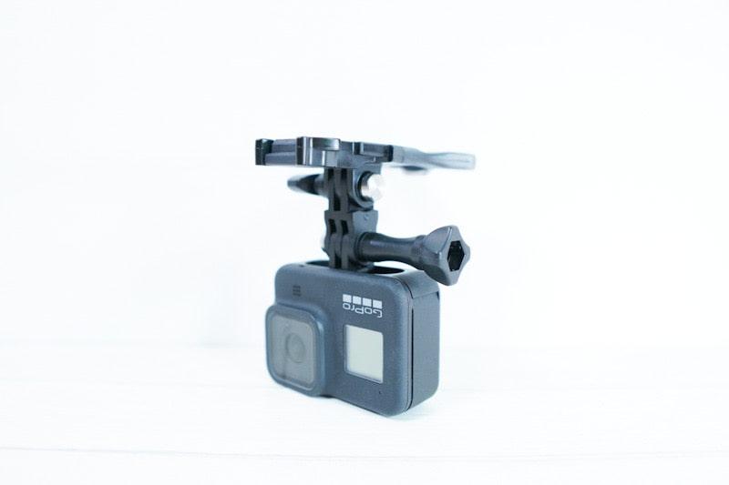 GoProとバイトマウント