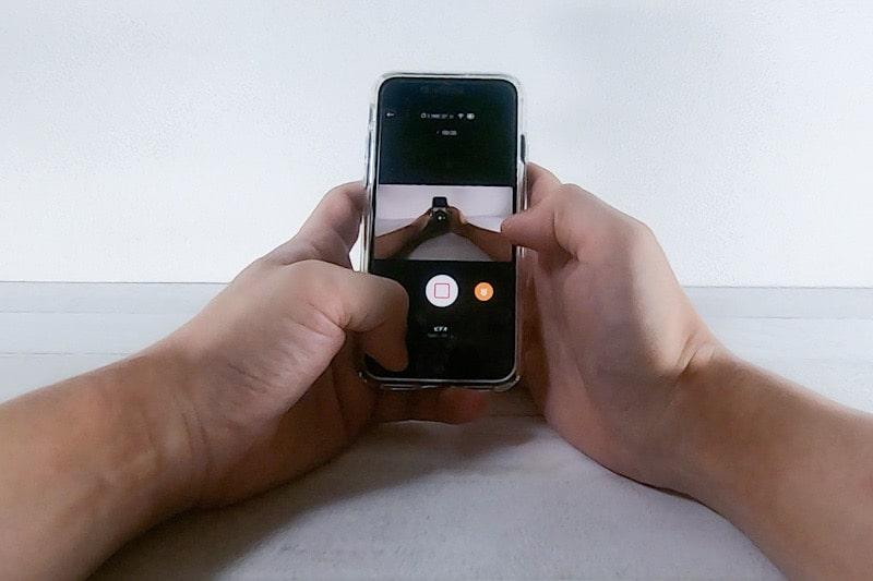 GoProとバイトマウントで撮影