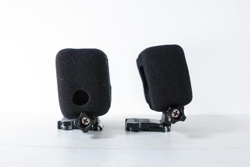 GoPro HERO8用のスポンジ防風カバー