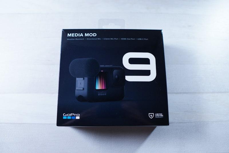 GoPro HERO9 Black用のメディアモジュラー