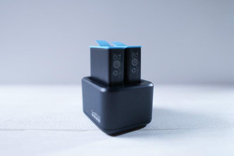 GoPro HERO9用のデュアルバッテリー充電器+バッテリー