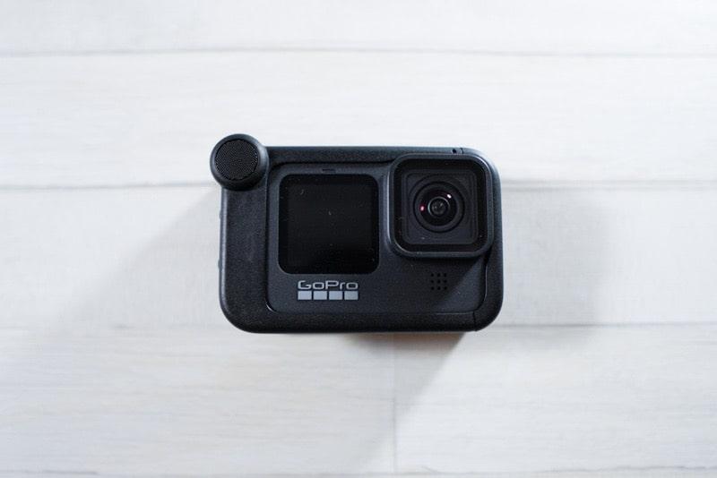 GoPro HERO9 Blackとメディアモジュラー