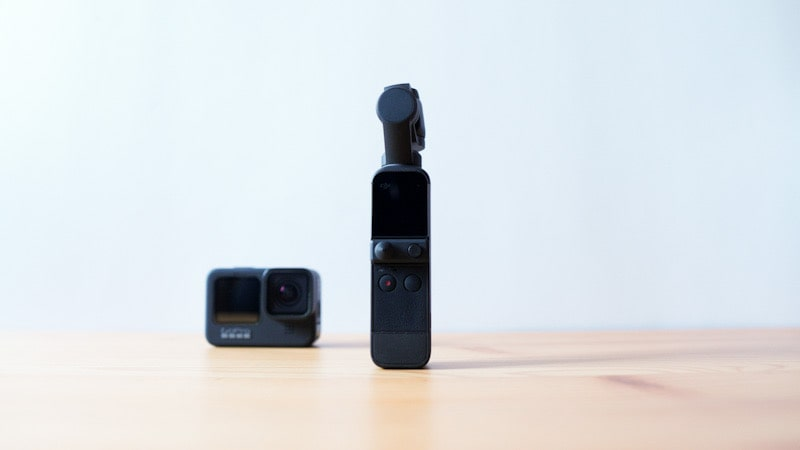 GoPro HERO9 BlackとDJI Pocket 2