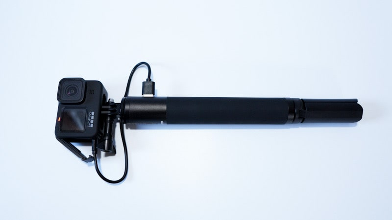Ulanziのカメラグリップ型バッテリー『BG-3 POWER BANK GRIP』とGoPro