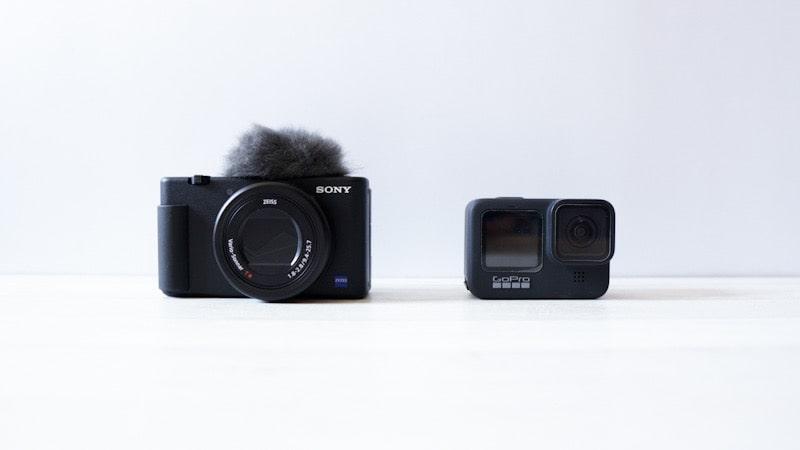 GoPro HERO9 BlackとSONY ZV-1