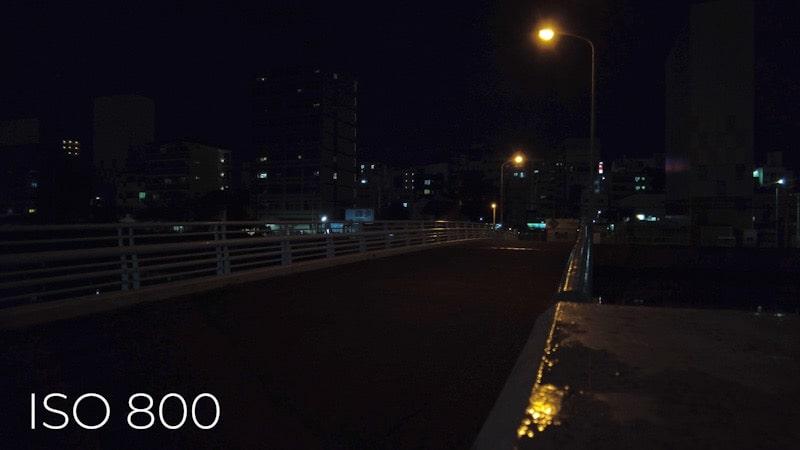 DJI Pocket2 ISO 最大800