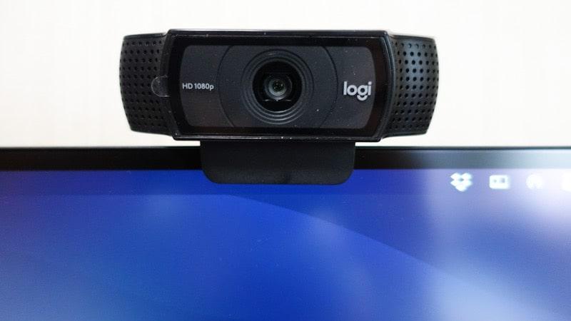 ロジクールのウェブカメラ『C920n』使用イメージ