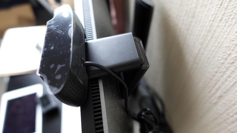 ロジクールのウェブカメラ『C920n』取り付け